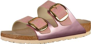 Birkenstock Arizona Big Buckle Natural Leather ceramic pattern rose