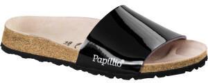 Papillio Cora Birko-Flor black patent