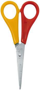 Wedo Bastelschere spitz für Linkshänder farbig sortiert 13cm (77 721)