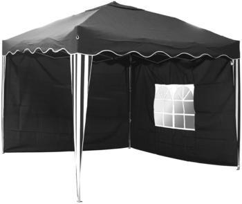 Linder Exclusiv Alu Faltpavillon 3 x 3 m schwarz