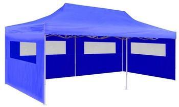 vidaXL Faltpavillon 3 x 6 m blau