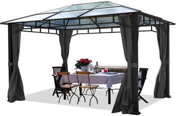 Toolport Gartenpavillon 300 x 400 cm mit Seitenteilen