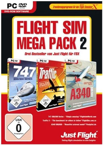 Flight Sim Mega Pack 2 (Add-On) (PC)