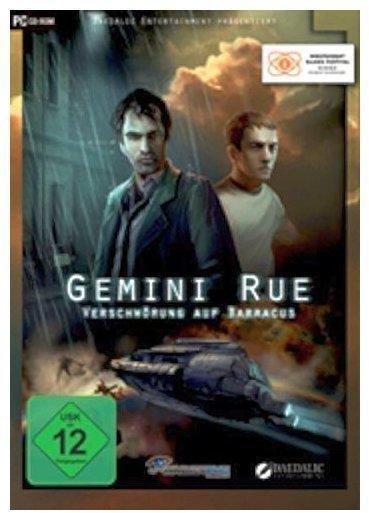 Gemini Rue - Verschwörung auf Barracus (PC)