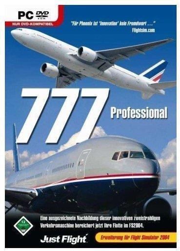 MS FS 2004 AddOn 777 Professional (PC)