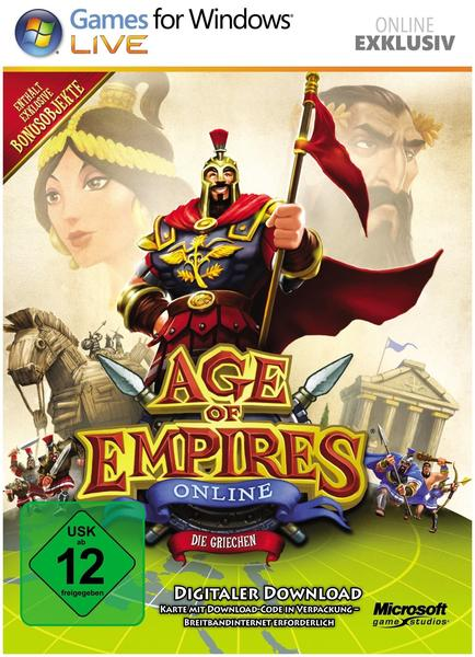 Microsoft Age Of Empires Online: Die Griechische Zivilisation (Download) (PC)