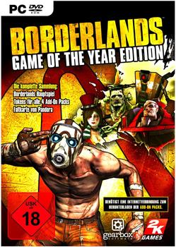 2K Games Borderlands - Game of the Year Edition (PC)
