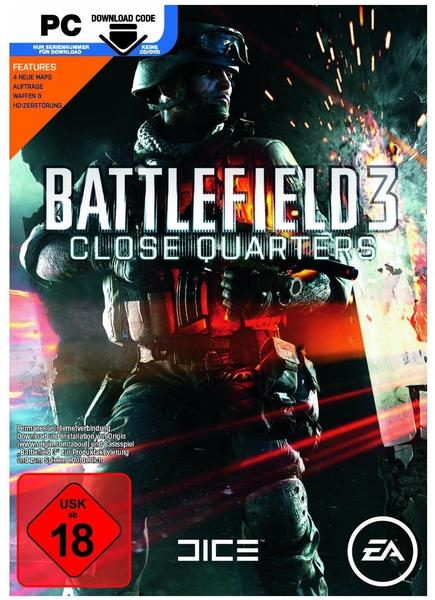Electronic Arts Battlefield 3: Close Quarters (Add-On) (Code in a Box) (Download) (PC)