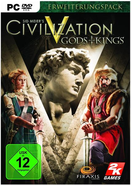 Sid Meier's Civilization V: Gods + Kings (Add-On) (PC)