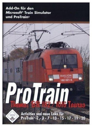 ProTrain Thema: BR 182 / 1016 Taurus (Add-On) (PC)