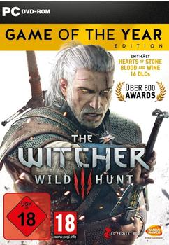 CDP The Witcher III: Wild Hunt - Game of the Year Edition (PC)