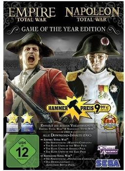 Empire: Total War + Napoleon: Total War - Game of the Year Edition (PC)