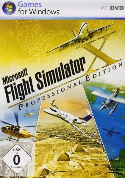 Microsoft Flight Simulator X: Professional Edition (PC)
