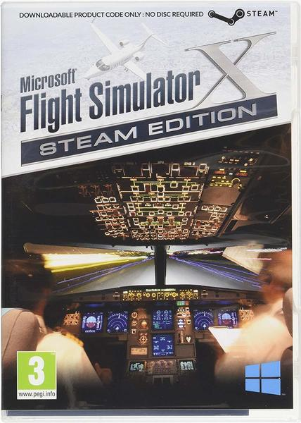Microsoft Microsoft Flight Simulator X - Steam Edition (PEGI) (Download) (PC)