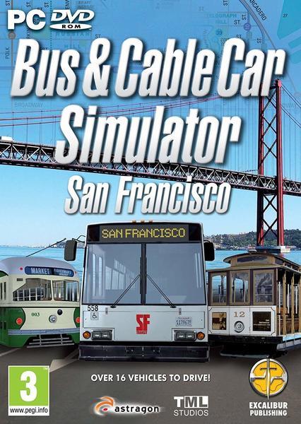Excalibur Bus- & Cable Car-Simulator: San Francisco (PEGI) (PC)