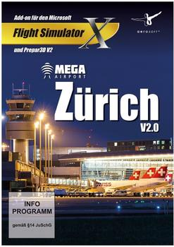 Mega Airport Zürich 2.0 (Add-On) (PC)
