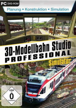 3D Modellbahnstudio Professional (PC)