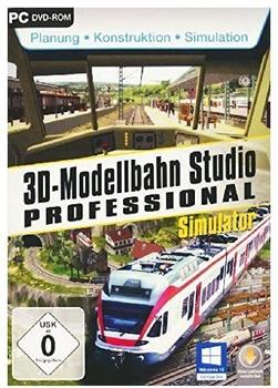 bhv Software 3D Modellbahnstudio Prof. V2 (PC)