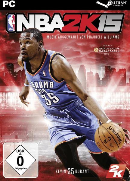 2K Sports NBA 2K15 (PEGI) (Code in a Box) (Download) (PC)
