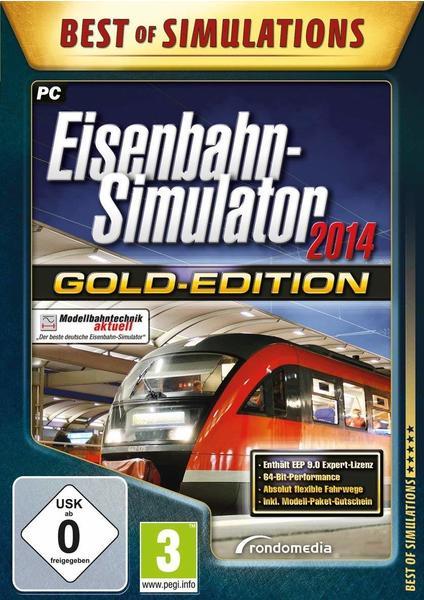 RONDOMEDIA Eisenbahn-Simulator 2014 - Gold Edition (Best of Simulations) (PC)