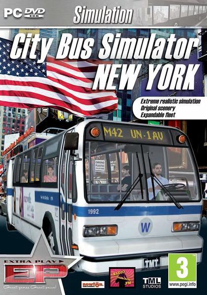 Excalibur City Bus Simulator: New York 2010 - The Empire State (PEGI) (PC)