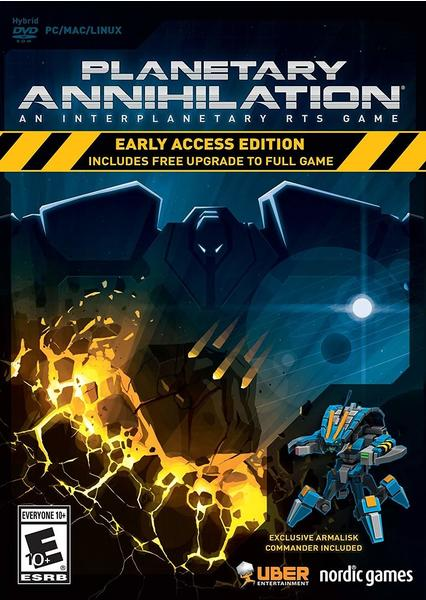 Nordic Games Planetary Annihilation - Early Access Edition (PEGI) (PC/Mac)