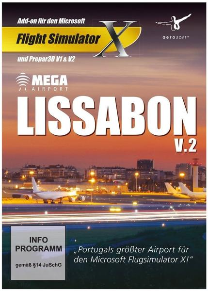 Mega Airport Lissabon V.2 (Add-On) (PC)