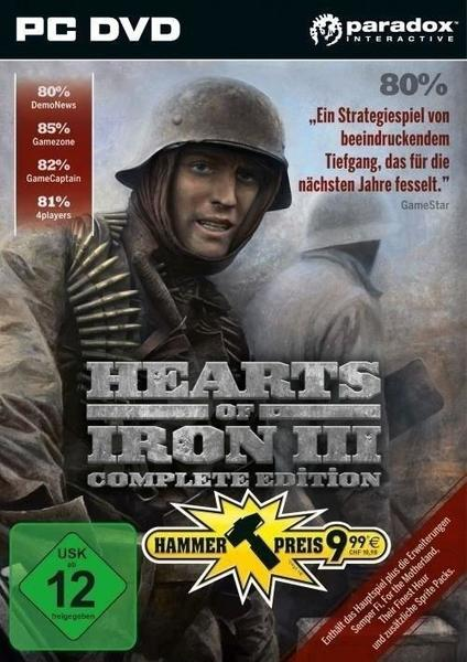 Hearts of Iron III: Complete Edition (PC)