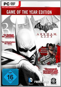 Warner Batman: Arkham City - Game of the Year (PC)