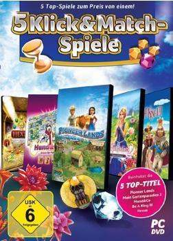 5 Click & Match-Spiele (PC)