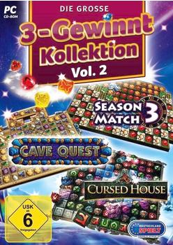 Die große 3 Gewinnt Kollektion Vol. 2 (PC)