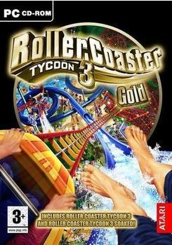 Atari RollerCoaster Tycoon 3 - Gold Edition (PC)