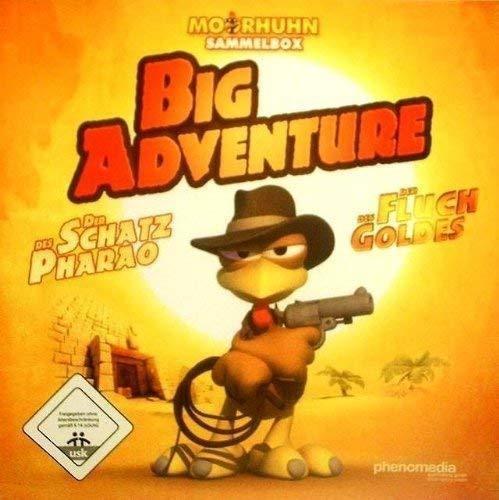 Phenomedia Moorhuhn Big Adventure TwinPack: Der Schatz des PharaoDer Fluch des Goldes (PC)