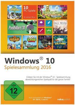 Windows 10 Spielesammlung 2016 (PC)