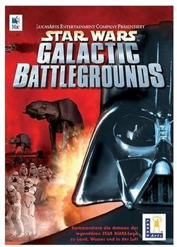 Lucasarts Star Wars Galactic Battlegrounds MAC