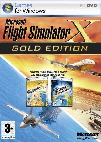 Microsoft Flight Simulator X Gold Edition (UK Import)