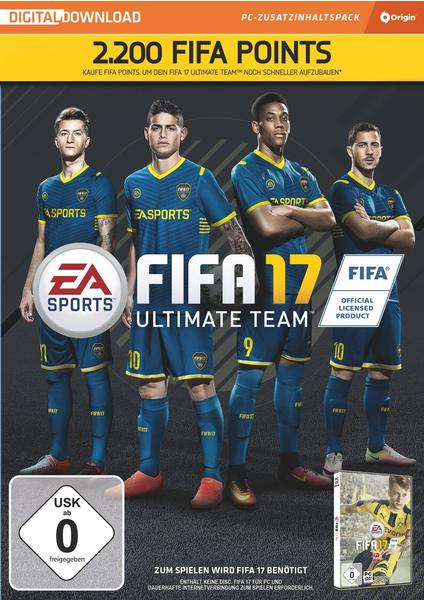 FIFA 17: Ultimate Team - 2.200 FIFA Points (Add-On) (PC)