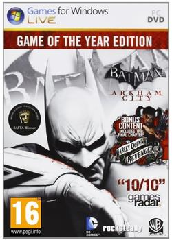 Warner Batman: Arkham City - Game of the Year Edition (PEGI) (PC)
