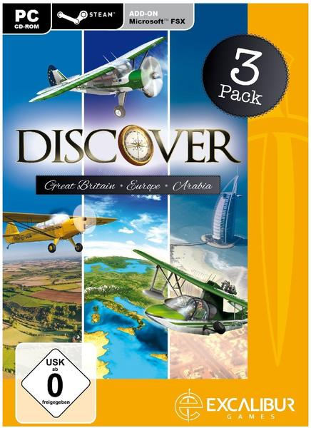 Discover Great Britain + Europe + Arabia (Add-On) (PC)