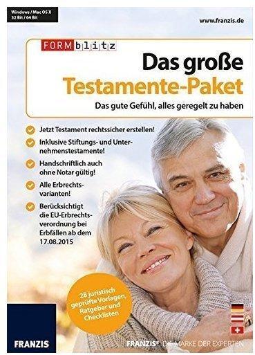 Franzis Das große Testamente-Paket