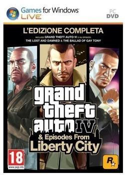 Rockstar Games Grand Theft Auto IV: - PC, PC, Action/Abenteuer, M (Reif))