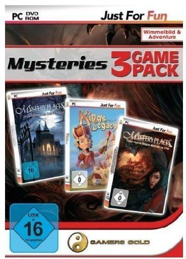 Mysteries 3 Game Pack: Geistervilla + Kings Legacy + Dragon Mountain (PC)
