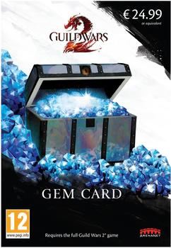 NCsoft Guild Wars 2 Gem Card (2017)