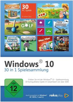 Windows 10: 30 in 1 Spielesammlung (PC)