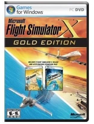 Microsoft MS Flight Sim X-Gold/DE Win32 DVD