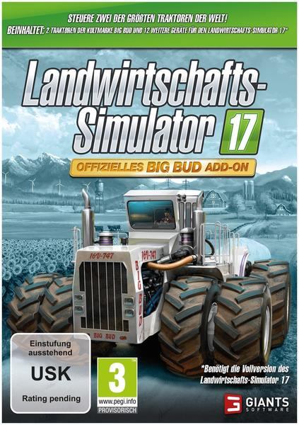 Landwirtschafts-Simulator 17: Offizielles Big Bud Add-On (Add-On) (PC)