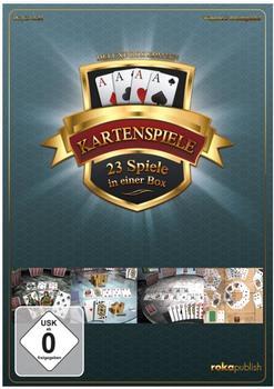 Kartenspiele Deluxe Box Edition: 23 Spiele in einer Box (PC)