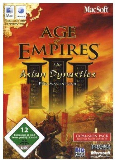 Age of Empires III: The Asian Dynasties (Add-On) (Mac)