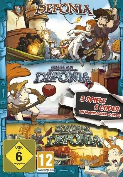 Deponia: Family Pack - Deponia + Chaos auf Deponia + Goodbye Deponia (PC)