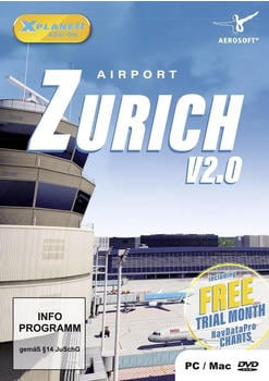 X-Plane 11: Airport Zurich V2.0 (Add-On) (PC/Mac)